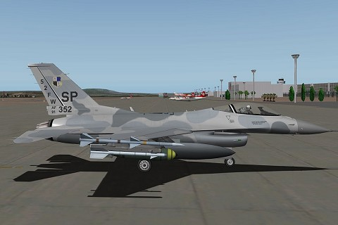 F16-C Fighting Falcon -v10