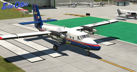 DHC-6 Twin Otter 300 Series v2