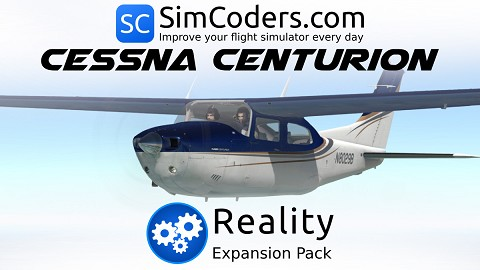 Reality Expansion Pack for Carenado  Centurion 210 II XP11