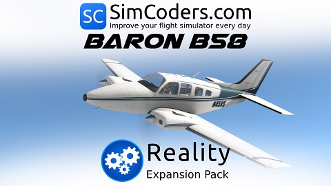 Reality Expansion Pack for default B58 Baron